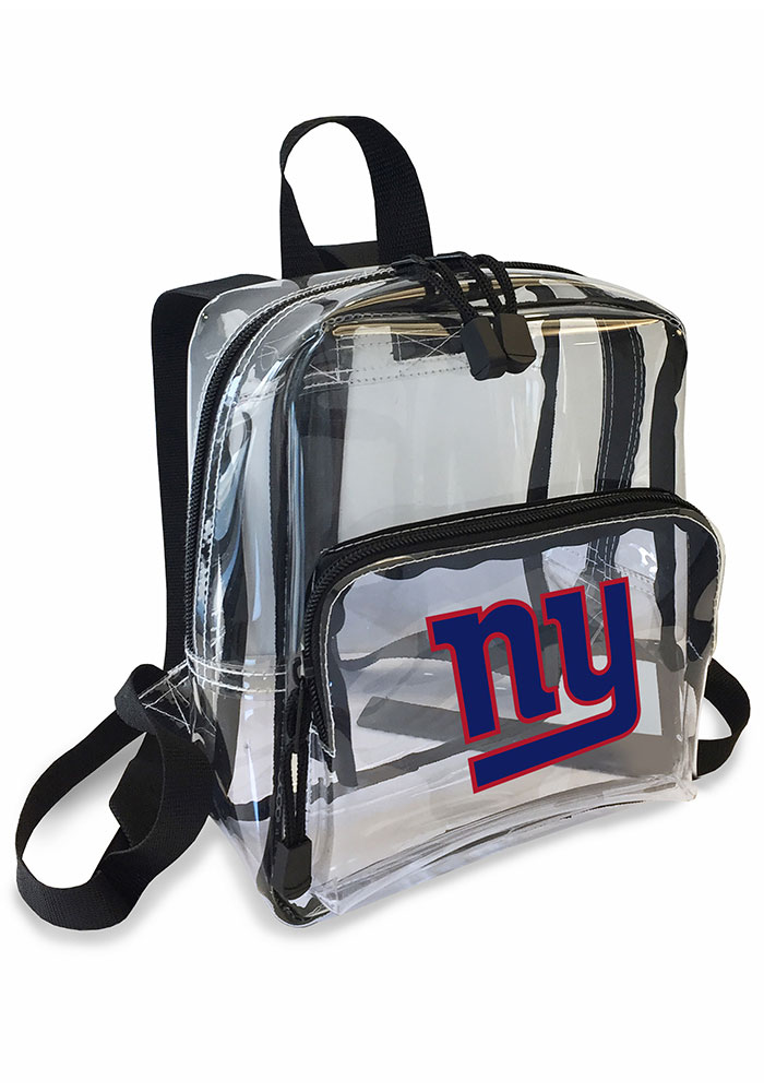 New York Giants White Stadium Approved Mini Backpack Backpack - Image 1