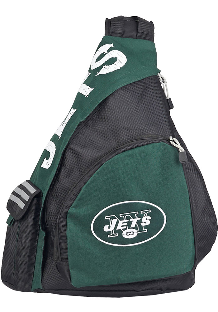 New York Jets Black Leadoff Sling Backpack - Image 1