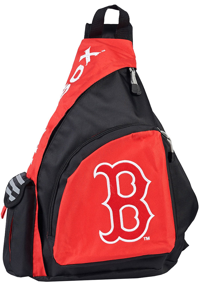 Boston Red Sox Red Leadoff Sling Backpack - Image 1