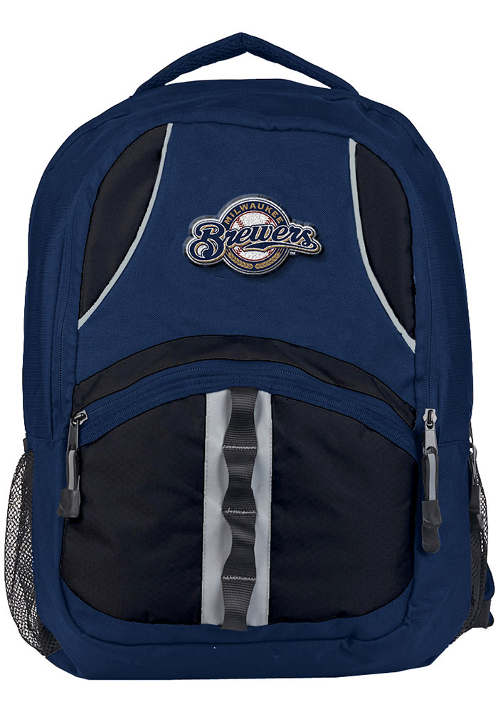 Milwaukee Brewers Navy Blue Captain Backpack - Image 1