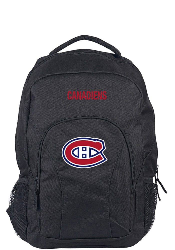 Montreal Canadiens Black Draft Day Backpack - Image 1