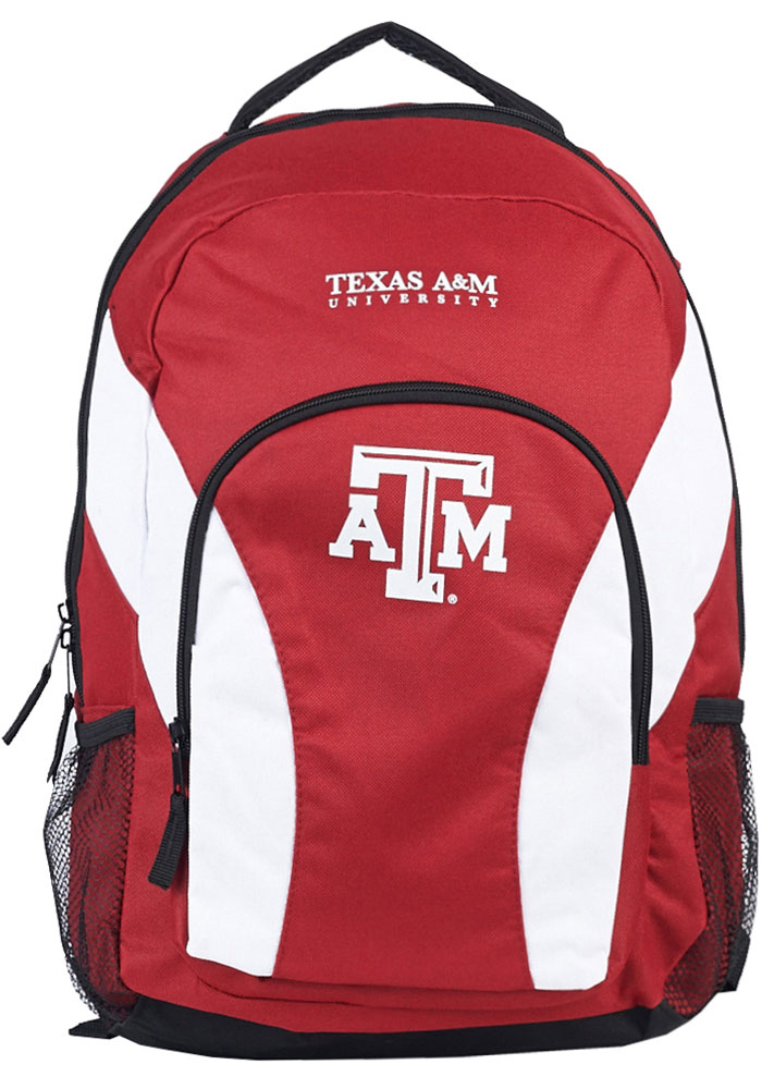 Texas A&M Aggies White Draft Day Backpack - Image 1