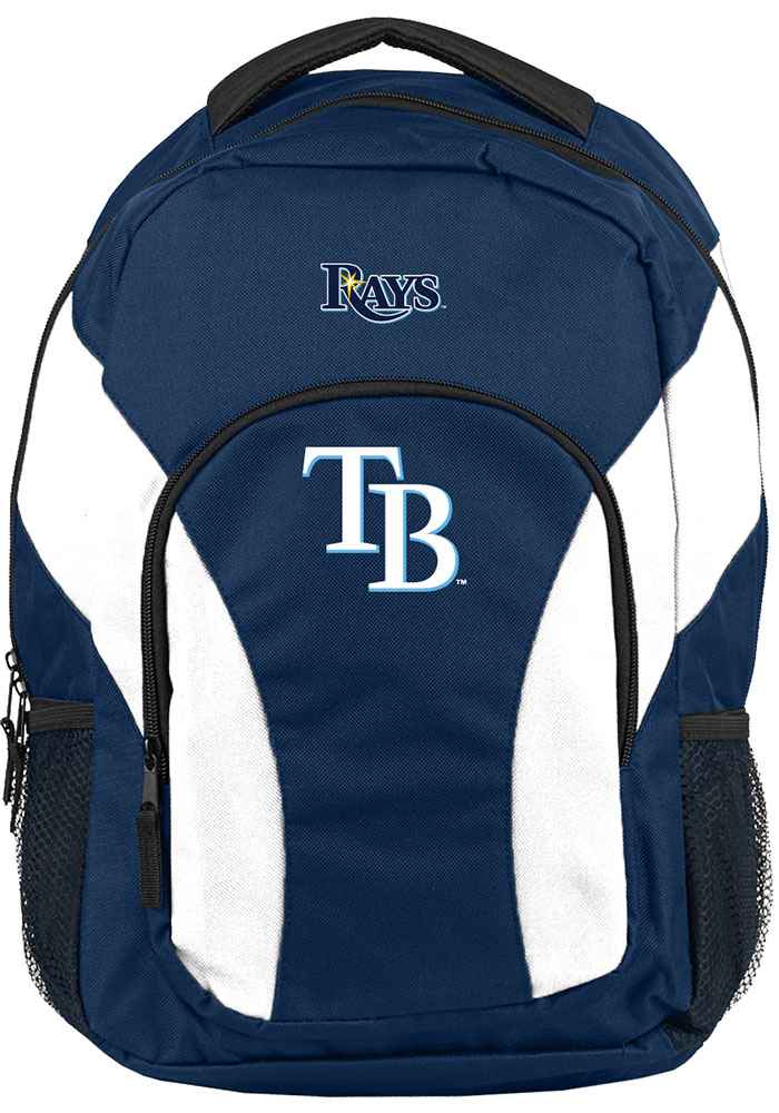 Tampa Bay Rays Navy Blue Draft Day Backpack - Image 1