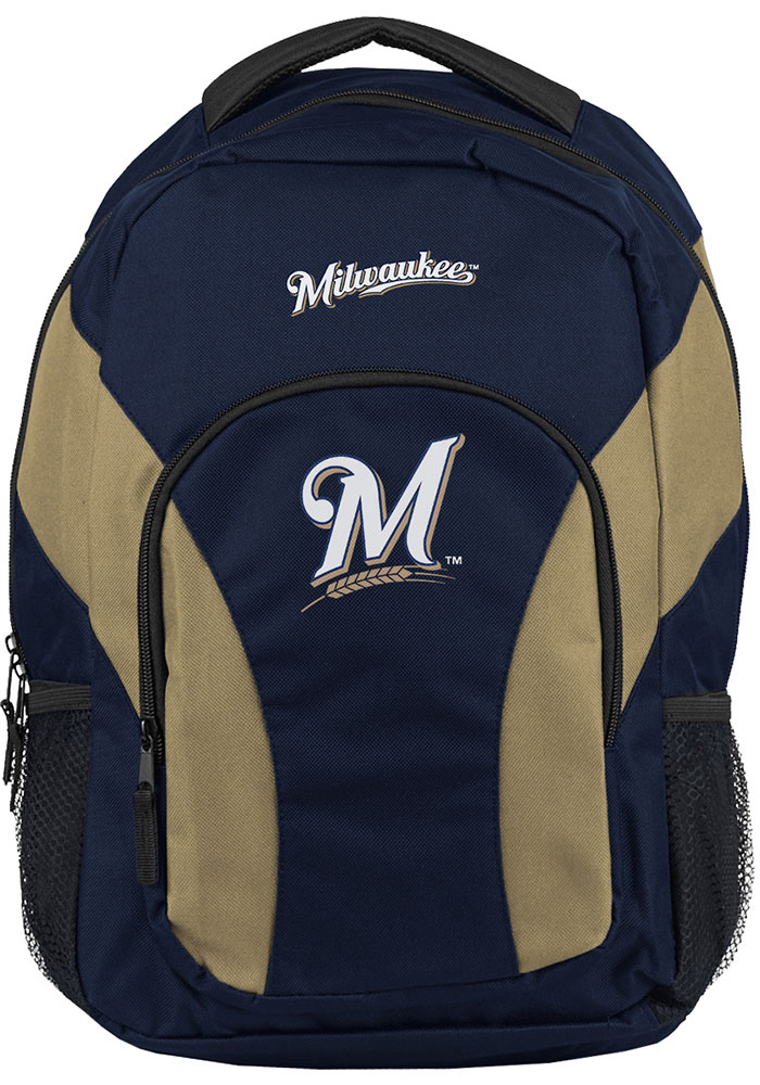 Milwaukee Brewers Navy Blue Draft Day Backpack - Image 1