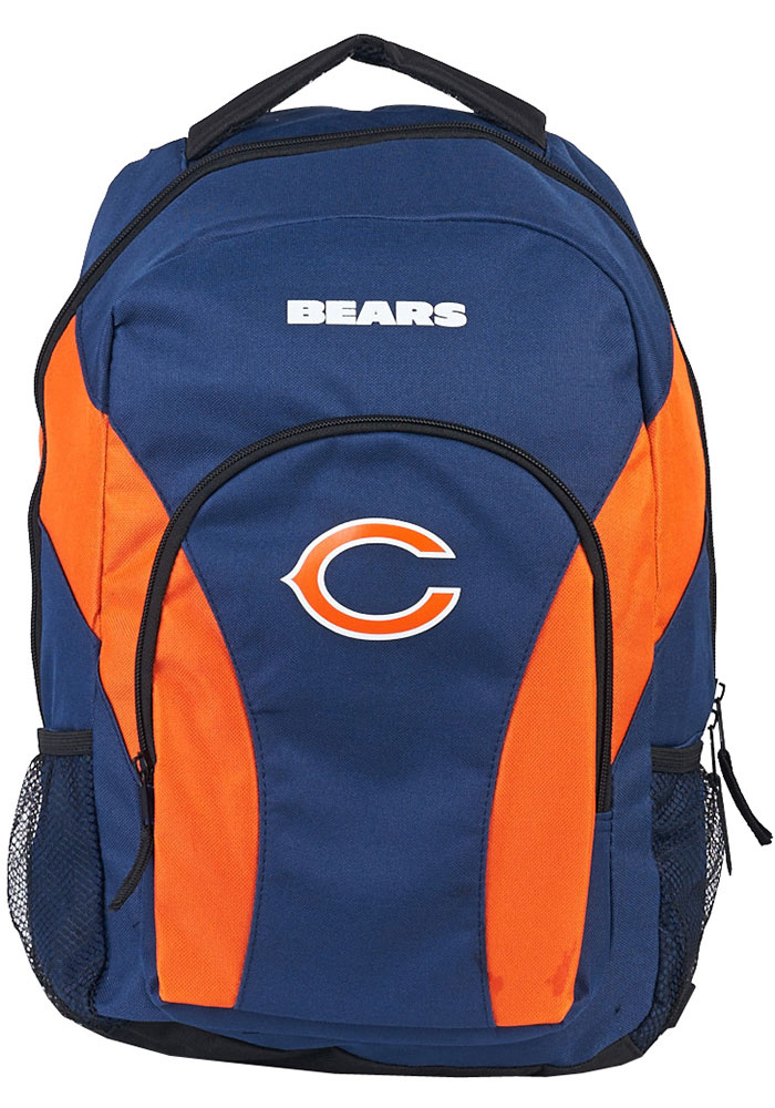 Chicago Bears Navy Blue Draft Day Backpack - Image 1