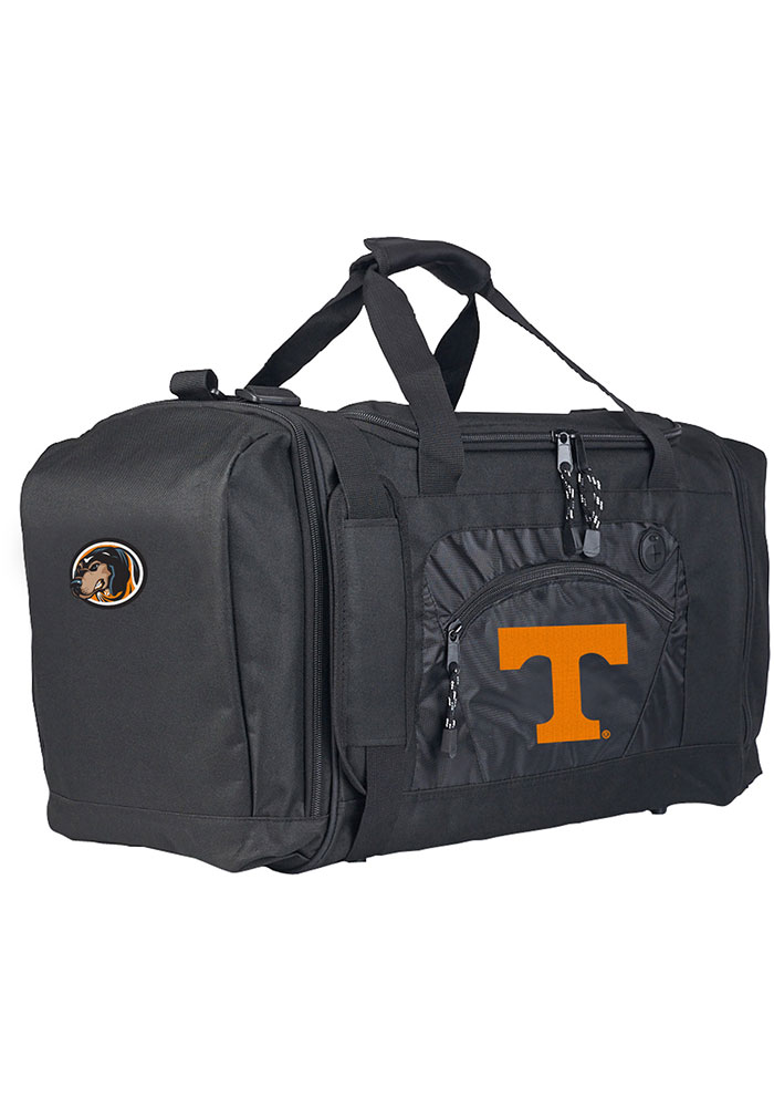 Tennessee Volunteers Black Road Block Duffel Luggage - Image 1
