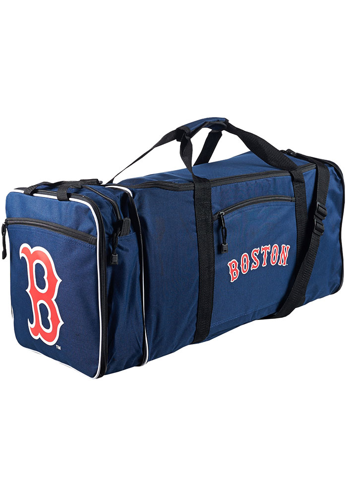 Boston Red Sox Navy Blue Steal Duffel Luggage - Image 1