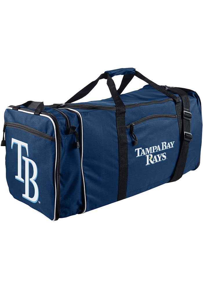 Tampa Bay Rays Navy Blue Steal Duffel Luggage - Image 1