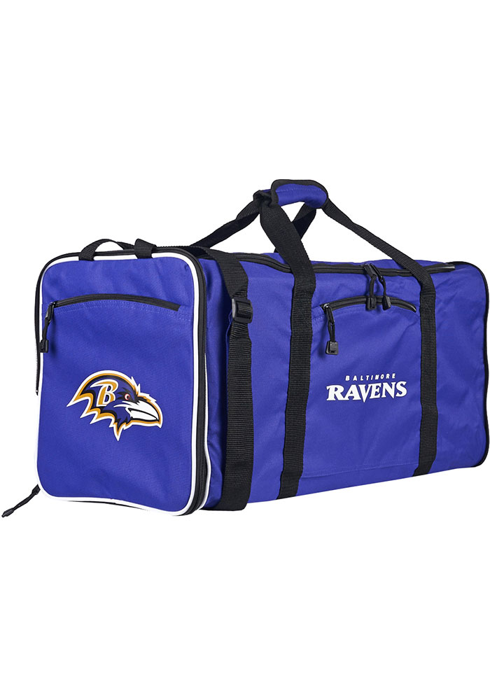 Baltimore Ravens Purple Steal Duffel Luggage - Image 1