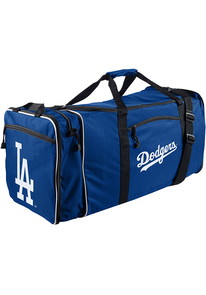 Los Angeles Dodgers Blue Steal Duffel Luggage - Image 1