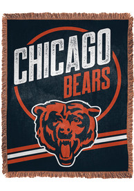 Chicago Bears Read Option 46x60 inch Jacqaurd Tapestry Blanket