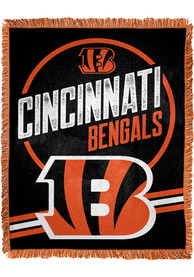 Cincinnati Bengals Read Option 46x60 inch Jacqaurd Tapestry Blanket