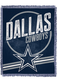 Dallas Cowboys Read Option 46x60 inch Jacqaurd Tapestry Blanket