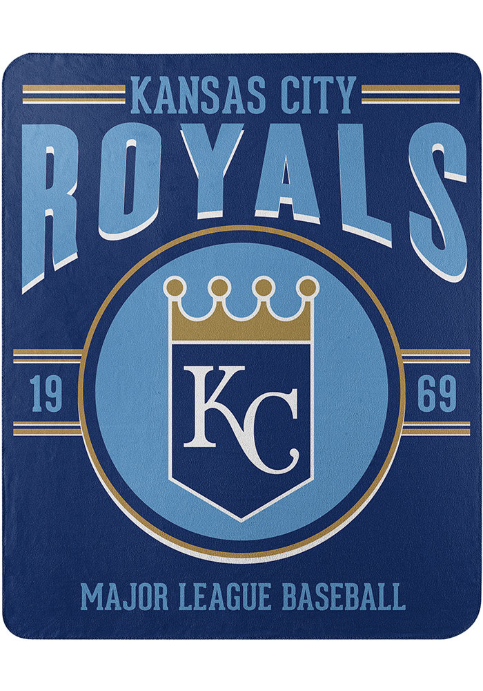 Kansas City Royals Southpaw 50x60 inch Fleece Blanket - Image 1