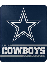 Dallas Cowboys Split Wide 50x60 inch Fleece Blanket