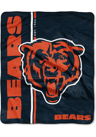 Chicago Bears Restructure 50x60 inch Raschel Blanket