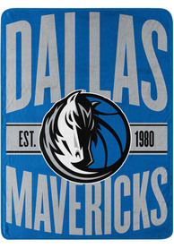 Dallas Mavericks Clear Out Raschel Blanket