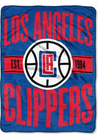 Los Angeles Clippers Clear Out Micro Raschel Blanket