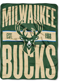 Milwaukee Bucks Clear Out Micro Raschel Blanket
