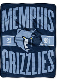 Memphis Grizzlies Clear Out Micro Raschel Blanket