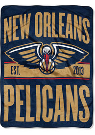 New Orleans Pelicans Clear Out Micro Raschel Blanket