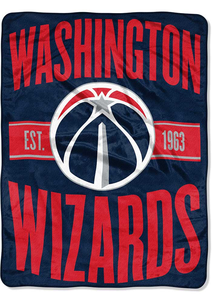 Washington Wizards Clear Out Micro Raschel Blanket - Image 1