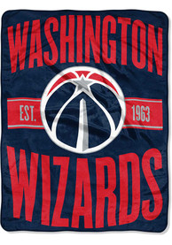 Washington Wizards Clear Out Micro Raschel Blanket