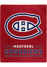 Montreal Canadiens Interference Raschel Blanket