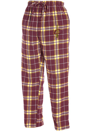 Cleveland Cavaliers Mens Red Huddle Sleep Pants