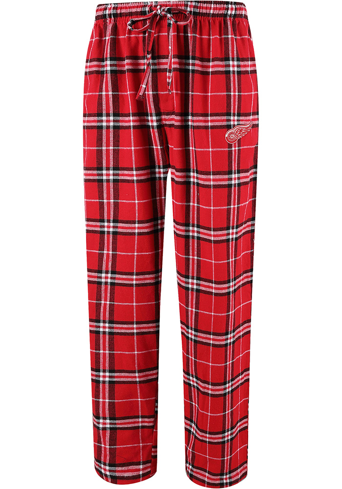 Detroit Red Wings Mens Red Huddle Sleep Pants - Image 1