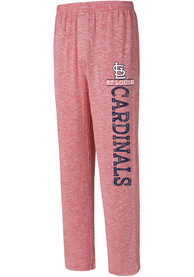 St Louis Cardinals Red Marble Sweatpants