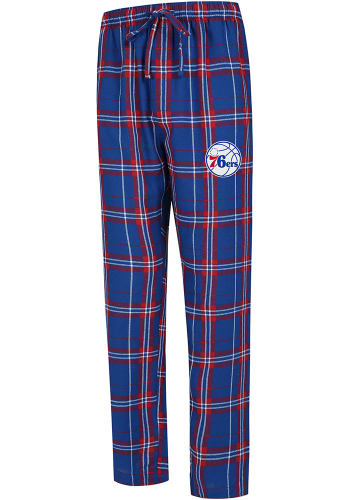 Philadelphia 76ers Mens Blue Hillstone Sleep Pants - Image 1