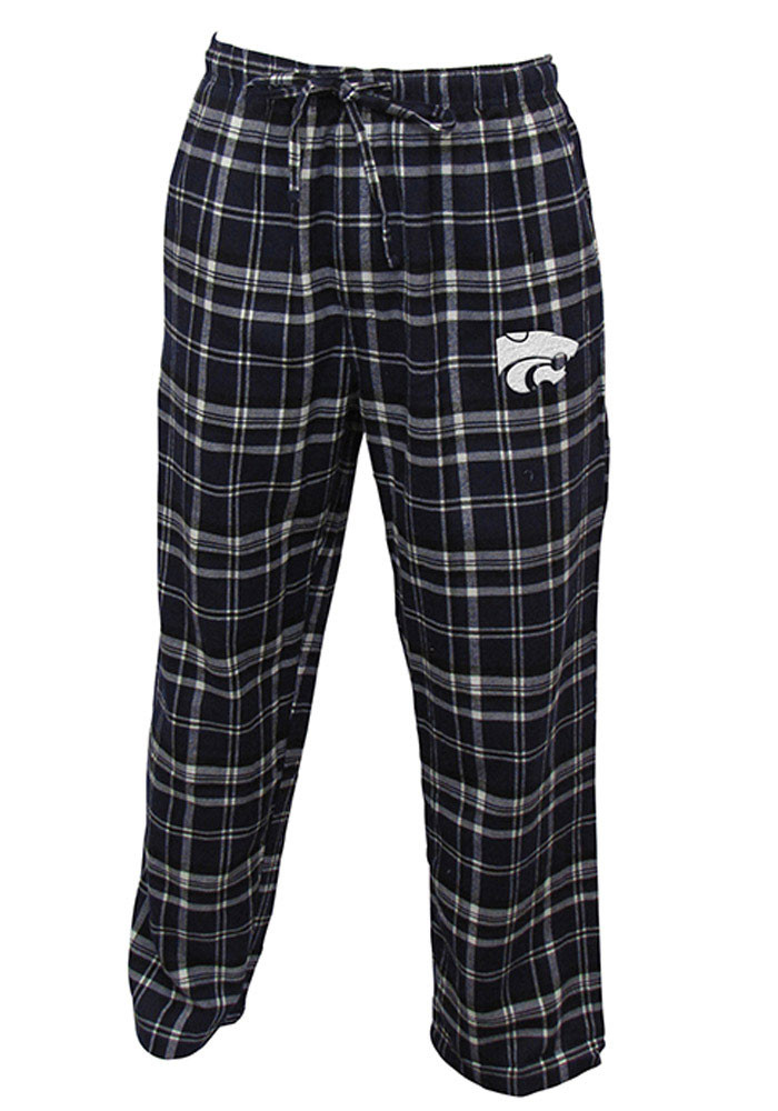K-State Wildcats Mens Purple Bleacher Sleep Pants - Image 1