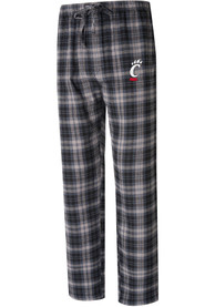Cincinnati Bearcats Parkway Plaid Sleep Pants - Black