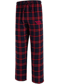 Dayton Flyers Parkway Plaid Sleep Pants - Navy Blue