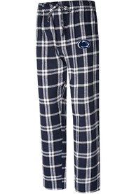 Penn State Nittany Lions Navy Blue Parkway Plaid Sleep Pants