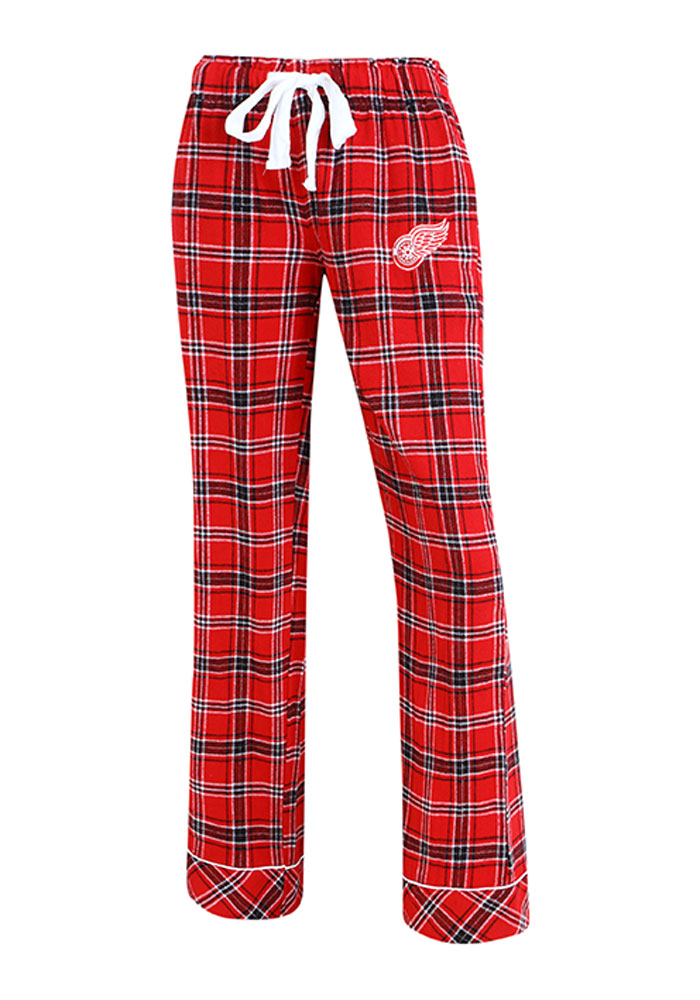 Detroit Red Wings Womens Red Captivate Sleep Pants - Image 1