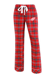 Detroit Red Wings Womens Red Captivate Sleep Pants