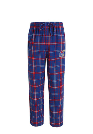 KU Jayhawks Mens Blue Ultimate Sleep Pants