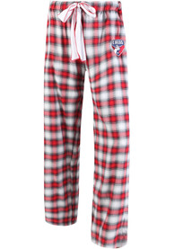 FC Dallas Womens Plaid Forge Red Sleep Pants