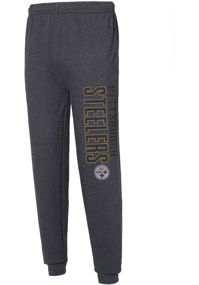 Pittsburgh Steelers Mens Grey Squeeze Play Sweatpants - Image 1