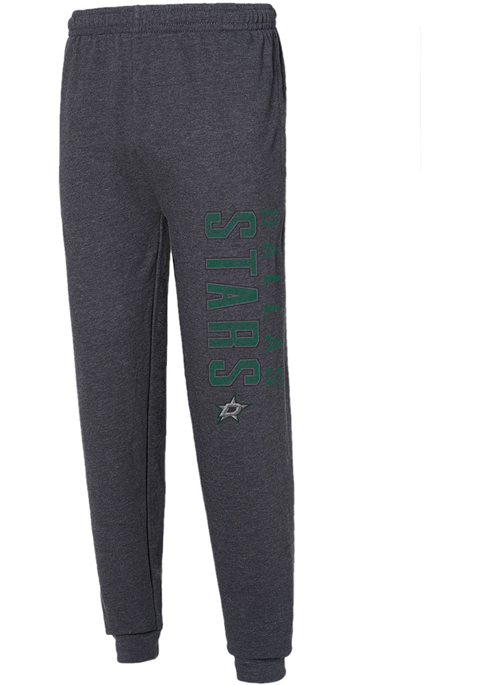 Dallas Stars Mens Grey Squeeze Play Sweatpants - Image 1