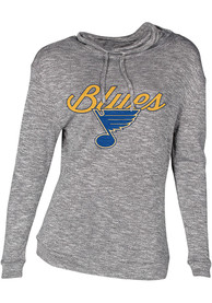 St Louis Blues Womens Layover Grey Crew Sweatshirt
