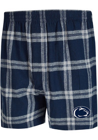 Penn State Nittany Lions Navy Blue Homestretch Boxers