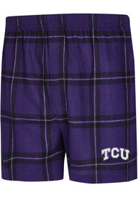 TCU Horned Frogs Purple Homestretch Boxers