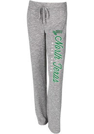 North Texas Mean Green Womens Layover Grey Sleep Pants
