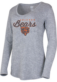 Chicago Bears Womens Layover Sleep Shirt - Grey