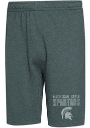Michigan State Spartans Mens Green Squeeze Play Shorts