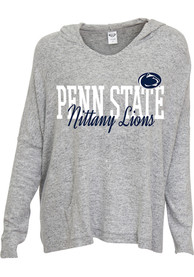 Penn State Nittany Lions Womens Grey Reprise Hoodie