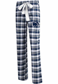 Penn State Nittany Lions Womens Piedmont Navy Blue Sleep Pants